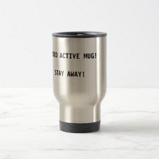 Radio Active Mug Stay Away