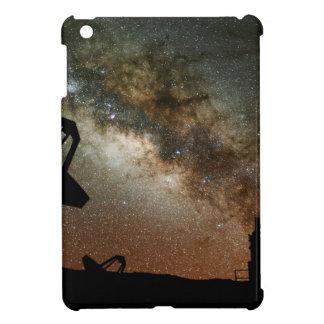 Radio Telescopes and Milky Way Cover For The iPad Mini