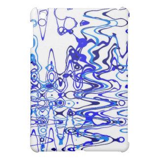 Radio Waves (blue) Cover For The iPad Mini