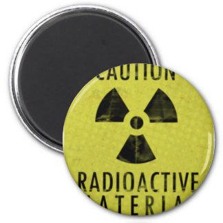 'radioactive materials' magnet
