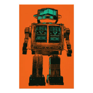 Radioactive Robot Rebellion Stationery