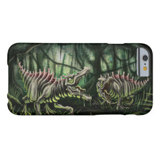 Radioactive Spinosaurus illustration Barely There iPhone 6 Case