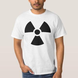 Radioactive symbol tees