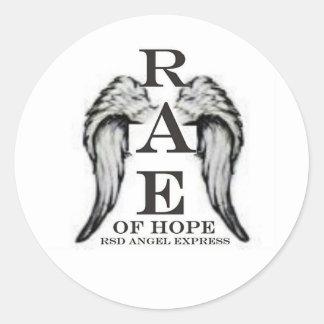RAE.jpg Classic Round Sticker