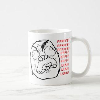 Rage Face Original Basic White Mug