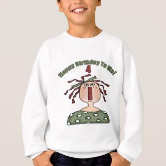 Raggedy Doll 4th Birthday Gifts Sweatshirt