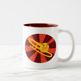 Raging Trombone Two-Tone Coffee Mug
