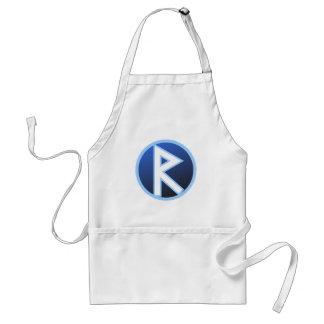 Raido Ride Rune Standard Apron
