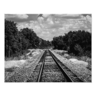 Rails Photographic Print
