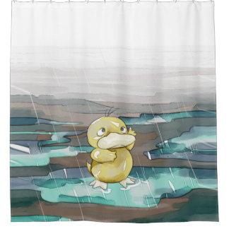 Rain Duck Shower Curtain