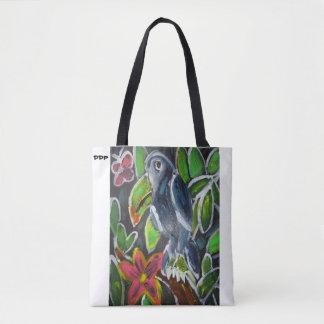 Rain Forest  Toucan art Tote Bag