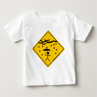 Rain Weather Warning Merchandise and Clothing Baby T-Shirt