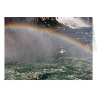 Rainbow and Niagara Card