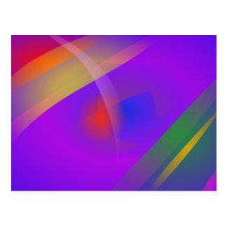 Rainbow and the Sun Postcard