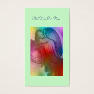 Rainbow  Angel Daily Prayer Card