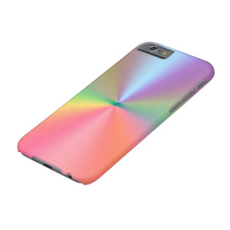Rainbow Background Barely There iPhone 6 Case