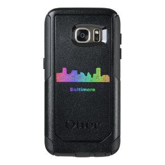 Rainbow Baltimore skyline OtterBox Samsung Galaxy S7 Case