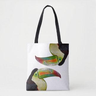 Rainbow-Billed Toucan All Over Print Bag