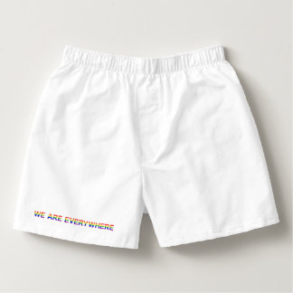 RAINBOW — Boxercraft Cotton Boxers
