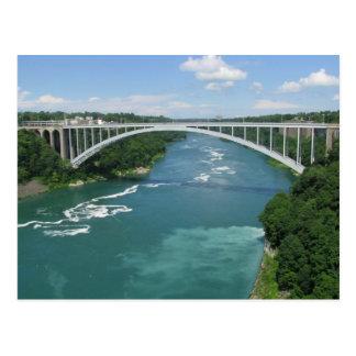 Rainbow Bridge, Niagara Falls Postcard