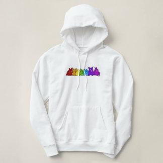 Rainbow Bunnies Hoodie