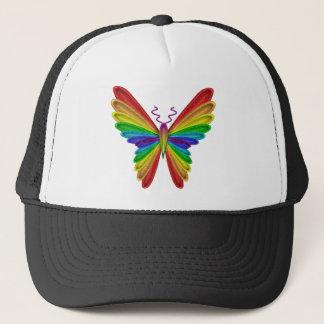 Rainbow Butterfly Hat