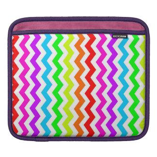 Rainbow chevron iPad case Sleeve For iPads