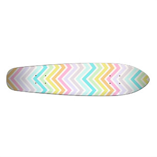 Rainbow Chevron Longboard Skateboard Decks