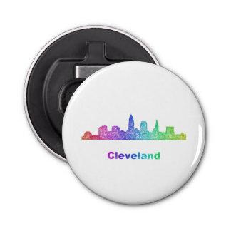 Rainbow Cleveland skyline Bottle Opener