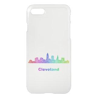 Rainbow Cleveland skyline iPhone 8/7 Case