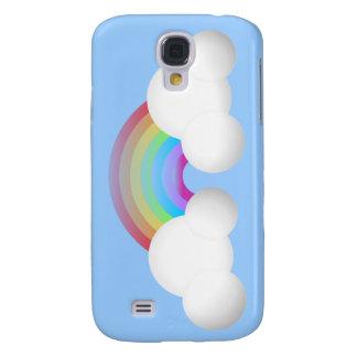Rainbow & Clouds Galaxy S4 Case