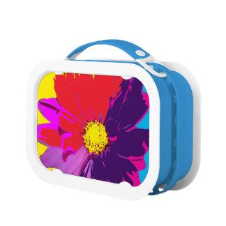 Rainbow Colored Daisy Lunch Box
