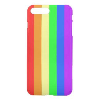 Rainbow colors, bright happy stunning stripes iPhone 8 plus/7 plus case