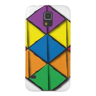 Rainbow Cube Galaxy S5 Cover