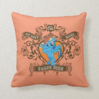 Rainbow Dash - Carpe diem - Seize the day Cushion