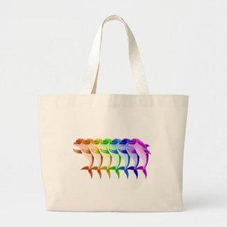 Rainbow Dolphins Bag
