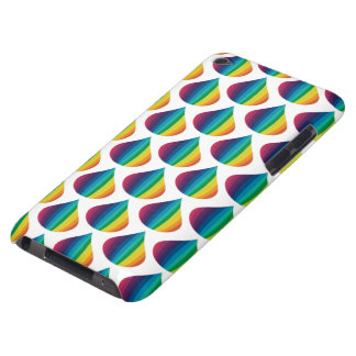 Rainbow Drops Barely There iPod Cover