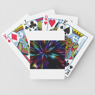 rainbow explosion poker deck