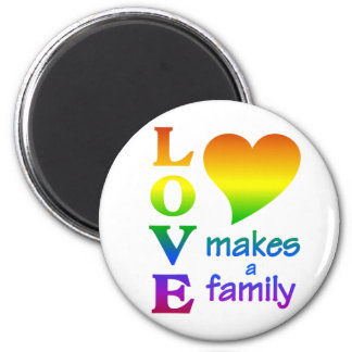Rainbow Family magnet
