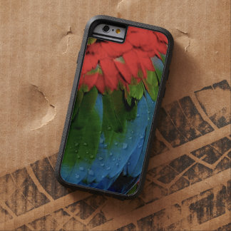 """Rainbow Feathers Phone Case"" Tough Xtreme iPhone 6 Case"