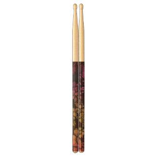 Rainbow Flower Abstract Drum Sticks