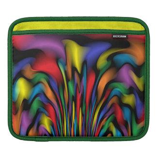 Rainbow Fountain iPad Sleeve
