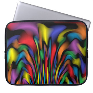 Rainbow Fountain Laptop Sleeve