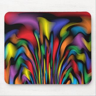 Rainbow Fountain Mousepad