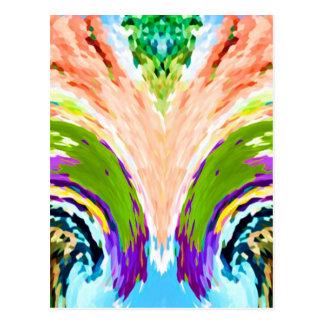 Rainbow Fountain of youth V1 - Postcard