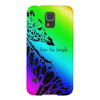 Rainbow Giraffe Galaxy S5 Cases