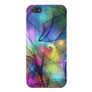 Rainbow Glowing Lights iPhone 5/5S Case
