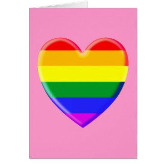 Rainbow Heart Cards