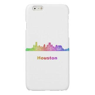 Rainbow Houston skyline