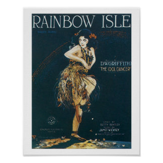 Rainbow Isle Music Cover Art Poster